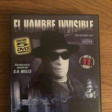 Series de TV: EL HOMBRE INVISIBLE. Lote 195232212