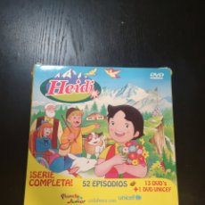 Series de TV: HEIDI SERIE COMPLETA 52 EPISODIOS - PLANETA JUNIOR. Lote 195249245