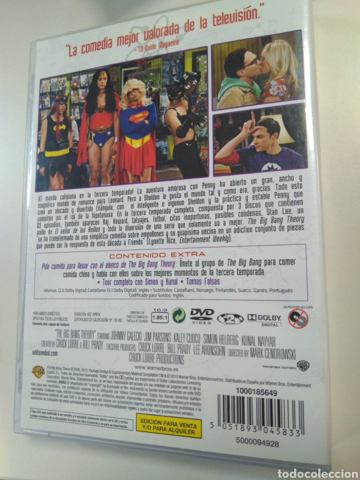 Series de TV: Big Bang Theory, tercera temporada - Foto 2 - 195295075
