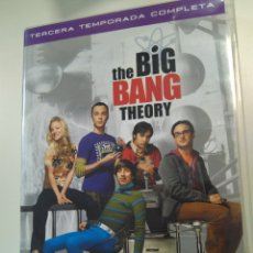Series de TV: BIG BANG THEORY, TERCERA TEMPORADA. Lote 195295075