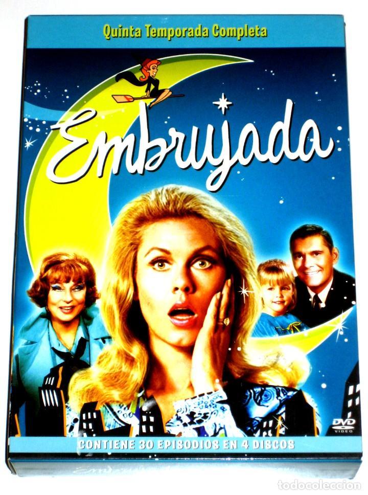 EMBRUJADA (TEMPORADA 5 - 4 DISCOS) - ELIZABETH MONTGOMERY DICK YORK AGNES MOOREHEAD DVD DESCATALOG. (Series TV en DVD)