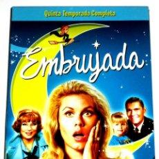 Series de TV: EMBRUJADA (TEMPORADA 5 - 4 DISCOS) - ELIZABETH MONTGOMERY DICK YORK AGNES MOOREHEAD DVD DESCATALOG.. Lote 195341296