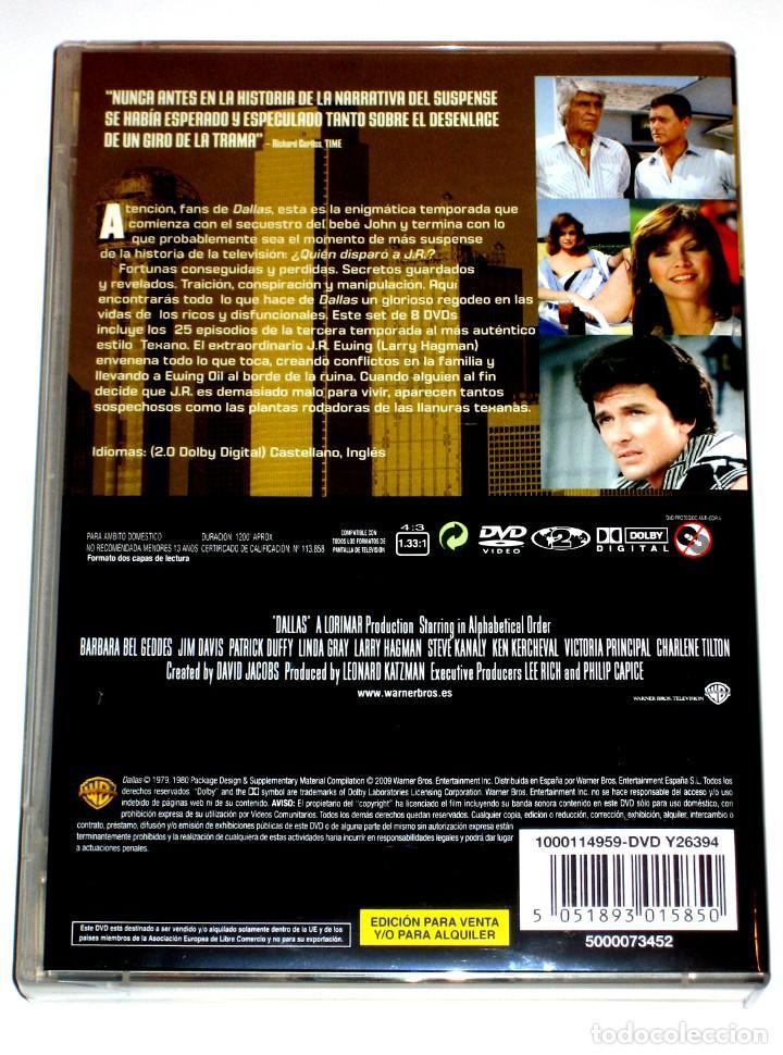 Series de TV: Dallas (T3 - 8 Discos) - Larry Hagman Patrick Duffy Victoria Principal DVD DESCATALOGADA - Foto 2 - 195341636