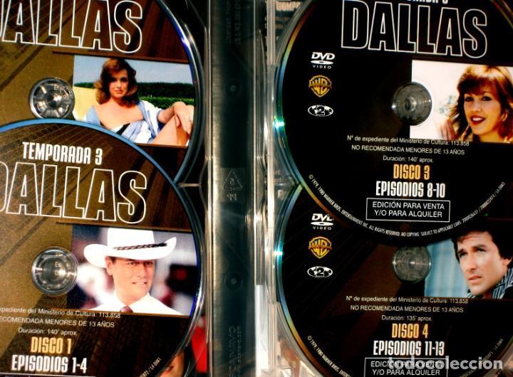 Series de TV: Dallas (T3 - 8 Discos) - Larry Hagman Patrick Duffy Victoria Principal DVD DESCATALOGADA - Foto 3 - 195341636