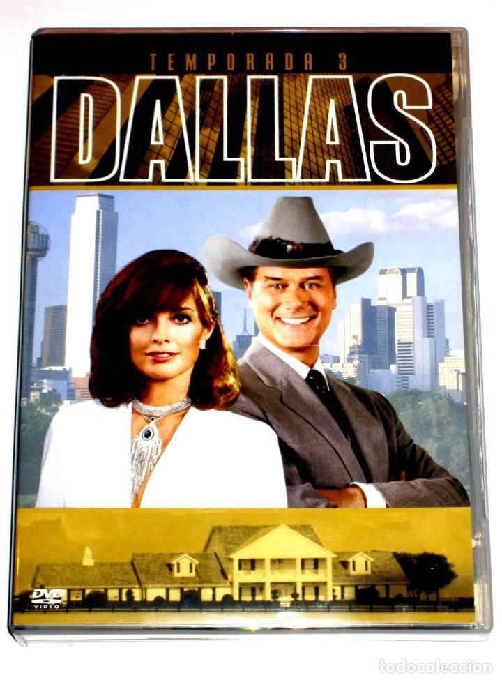 DALLAS (T3 - 8 DISCOS) - LARRY HAGMAN PATRICK DUFFY VICTORIA PRINCIPAL DVD DESCATALOGADA (Series TV en DVD)