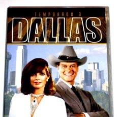 Series de TV: DALLAS (T3 - 8 DISCOS) - LARRY HAGMAN PATRICK DUFFY VICTORIA PRINCIPAL DVD DESCATALOGADA. Lote 195341636