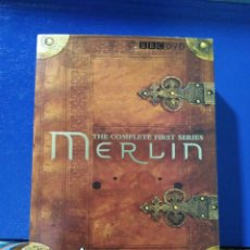 Series de TV: THE COMPLETE FIRTS SERIES MERLÍN ( HABLA INGLESA ) 6 DVD. Lote 195585210