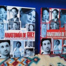 Series de TV: ANATOMÍA DE GREY ( 2 TEMPORADA EN 1 Y 2 PARTE ) 8 DVD. Lote 195585490