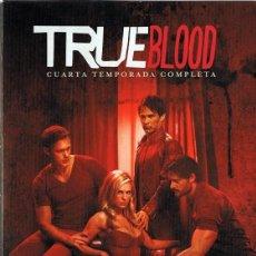 Series de TV: TRUE BLOOD CUARTA TEMPORADA COMPLETA ( 5 DVD). Lote 195645397