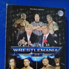 Series de TV: WRESTLEMANIA 23 ( 3 DVD ). Lote 195789326