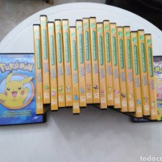 Series de TV: LOTE DE 20 DVD POKEMON. Lote 195914383