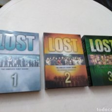 Series de TV: SERIE TV LOST 1,2 Y 3 ( THE COMPLETE FIRST SEASON ). Lote 195915507