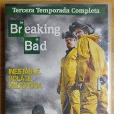 Series de TV: SERIE 'BREAKING BAD' 3º TEMPORADA COMPLETA. Lote 196163996