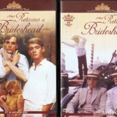 Series de TV: RETORNO A BRIDESHEAD 11 DVD´S. Lote 196171652