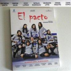 Series de TV: EL PACTO DVD MINI SERIE PELÍCULA LARGA - FERNANDO COLOMO EMBARAZO ADOLESCENTES MACARENA GARCÍA SALAS. Lote 196304438