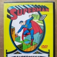 Serie di TV: DVD SUPERMAN II (SOGEMEDIA). 70 MINUTOS. 8 EPISODIOS DE LA SERIE CLÁSICA (AÑOS 42-43).. Lote 196920736