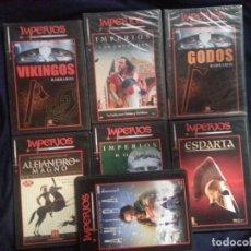 Series de TV: IMPERIOS - LOTE 7 DVS. Lote 196968807