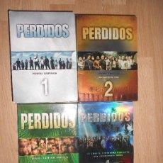 Series de TV: PERDIDOS / LOST - LOTE 1ª, 2ª, 3ª, 4ª. TEMPORADAS COMPLETAS - 28 DVDS. Lote 198221200