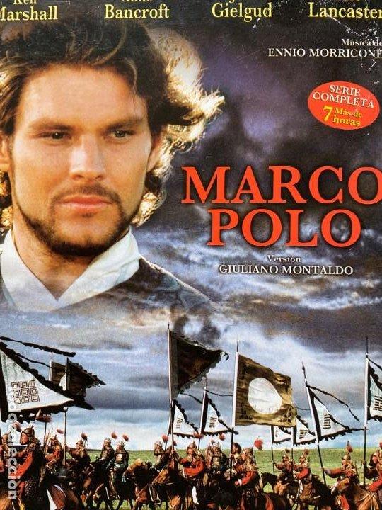 SERIE COMPLETA MARCO POLO EN DVD UNICA Y ESPECIAL LA MEJOR VERSION CON 4 DVDS + DE 7 HORAS (Series TV en DVD)
