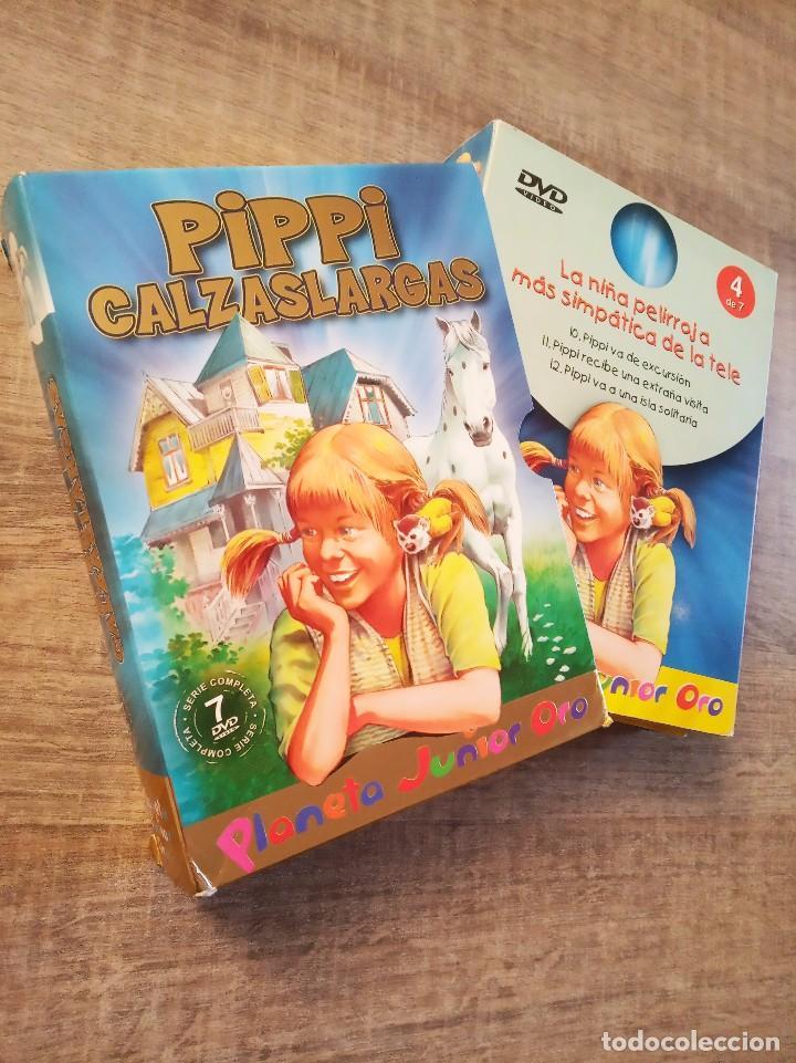 Series de TV: DVD PIPPI CALZASLARGAS 7 DVDS - SERIE COMPLETA - PLANETA JUNIOR ORO - Foto 3 - 198915648