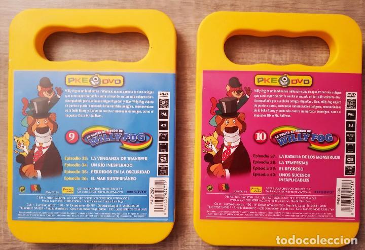 Series de TV: DVD LA VUELTA AL MUNDO DE WILLY FOG Vol. 9 y 10 - PLANETA JUNIOR - Foto 2 - 198917586