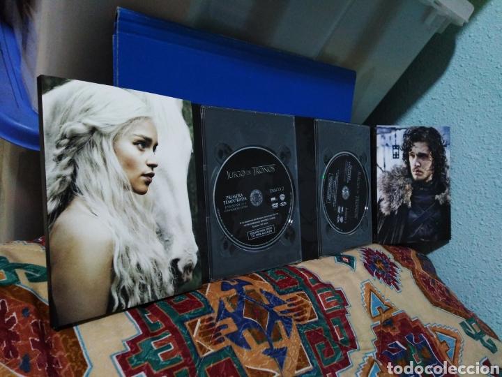 Series de TV: Juego de tronos ( 1 temporada completa ) 5 DVD - Foto 8 - 198923350
