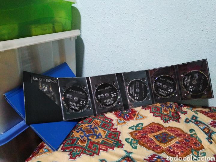Series de TV: Juego de tronos ( 1 temporada completa ) 5 DVD - Foto 9 - 198923350