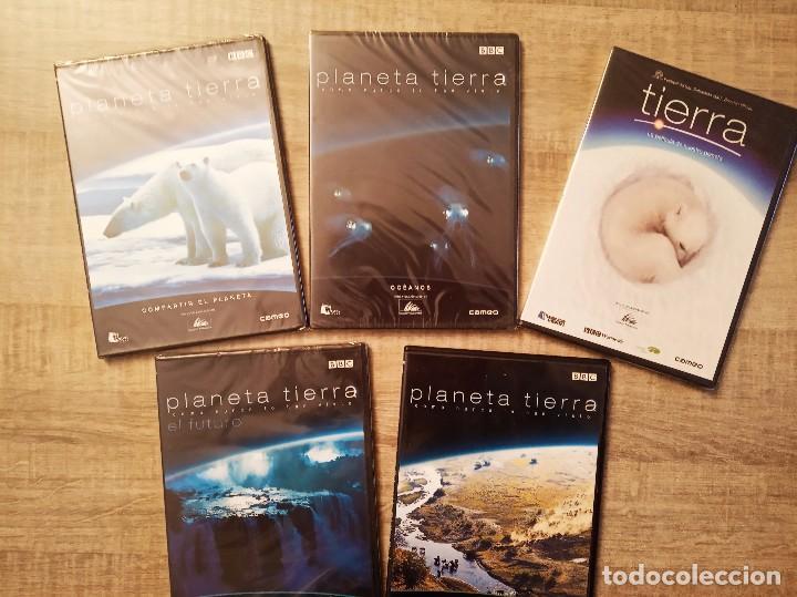 PLANETA TIERRA: COMO NUNCA LO HAS VISTO - VARIOS TÍTULOS - DVD'S PRECINTADOS (Series TV en DVD)