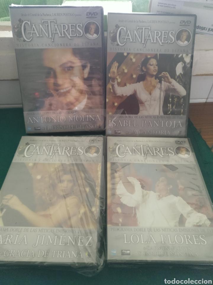 CUATRO DVDS DE LA SERIE CANTARES (Series TV en DVD)