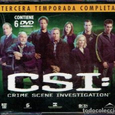 Series de TV: CSI (CRIME SCENE INVESTIGATION) - TERCERA TEMPORADA COMPLETA. Lote 199276246