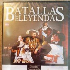 Series de TV: BATALLAS DE LEYENDA: LA ARMADA INVENCIBLE + NAPOLEÓN - BBC GRANDES DOCUMENTALES - 2 DVD'S. Lote 199390223