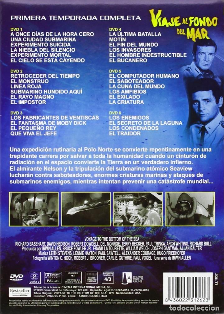 Series de TV: VIAJE AL FONDO DEL MAR - PRIMERA TEMPORADA COMPLETA - IRWIN ALLEN - Foto 2 - 199915688
