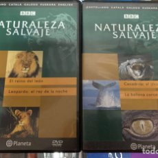 Series de TV: NATURALEZA SALVAJE BBC. Lote 200756816
