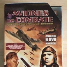 Series de TV: AVIONES DE COMBATE DOCUMENTAL DE 6 DVD COLECCION CAMPO DE BATALLA. Lote 201112340