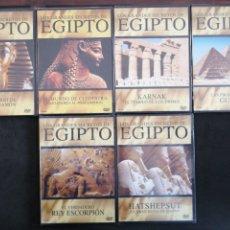 Series de TV: LOS GRANDES SECRETOS DE EGIPTO, COLECCIÓN DE 6 DVD, PRESCINTADOS. Lote 201496797