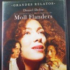 Series de TV: LAS AVENTURAS Y DESVENTURAS DE MOLL FLANDERS - DANIEL DEFOE - 2 DVD. Lote 201975397