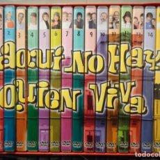 Séries de TV: PRIMERA TEMPORADA (COMPLETA) 15 DVDS, 30 CAPITULOS AQUI NO HAY QUIEN VIVA. Lote 201990687