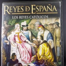 Series de TV: SERIE DOCUMENTAL REYES DE ESPAÑA: LOS REYES CATÓLICOS - 2 DISCOS. Lote 202002380