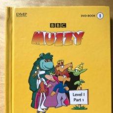 Series de TV: BBC MUZZY. MULTILINGUAL LANGUAGE COURSE. DVD-BOOK NÚM 1. Lote 202254510