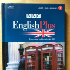 Series de TV: BBC ENGLISH PLUS - EL CURSO DE INGLÉS DEL SIGLO XXI BBC - LIBRO + DVD + CD ROM - NUMERO 1. Lote 202254720