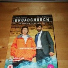 Series de TV: BROADCHURCH - SERIES ONE AND TWO - RLJ - ACORN - KUDOS 2013-2015 - DAVID TENNANT - OLIVIA COLMAN. Lote 202286136