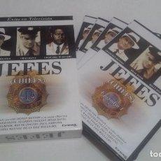Series de TV: ANTIGUA SERIE DE TELEVISIÓN - JEFES (CHIEFS) -. Lote 202439553