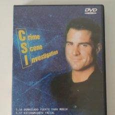 Series de TV: CSI LAS VEGAS. PRIMERA TEMPORADA. CAPÍTULOS: 1.16, 1.17, 1.18. DVD. Lote 202665690