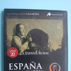 Series de TV: LA ESPAÑA RURAL – DVD DOCUMENTAL Nº 20 ESPAÑA EN LA MEMORIA - LA GACETA VEASE CONTENIDO EN FOTO. Lote 202715502