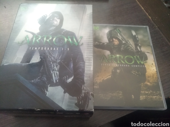 ARROW TEMPORADA 1 A LA 6 COMPLETA (Series TV en DVD)