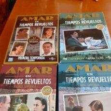 Series de TV: LOTE CDS CUATRO TEMPORADAS DE LA SERIE AMAR EN TIEMPOS REVUELTOS. Lote 203498315