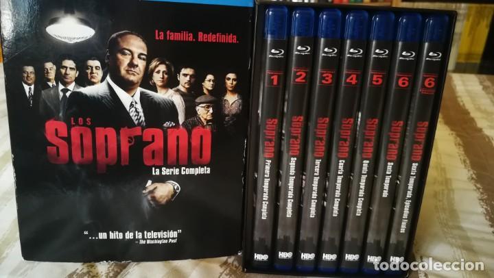 Series de TV: LOS SOPRANO. (THE SOPRANOS). SERIE COMPLETA BLU RAY. 7 DISCOS MÁS LIBRETO DE FOTOS. - Foto 2 - 203582102