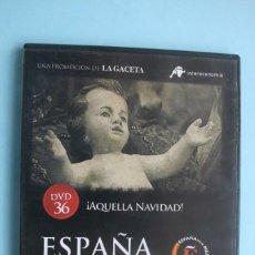 Series de TV: AQUELLA NAVIDAD – DVD DOCUMENTAL Nº 36 ESPAÑA EN LA MEMORIA - LA GACETA VEASE CONTENIDO. Lote 203613435