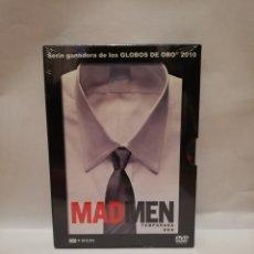 Series de TV: MAD MEN TEMPORADA 2 COMPLETA, DVD, PRECINTADA, 4 DISCOS 13 EPISODIOS. Lote 203628213