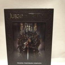 Series de TV: JUEGO DE TRONOS TEMPORADA 1 COMPLETA, DVD, 5 DISCOS. Lote 203629876